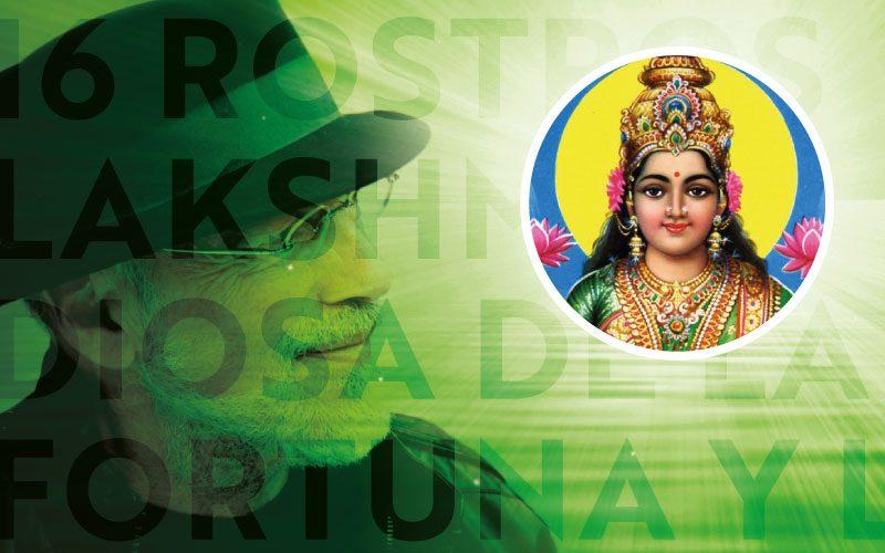 16 Rostros - Lakshmi: Diosa de la Fortuna y la Belleza