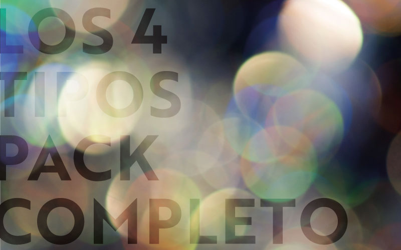 Los 4 Tipos - Pack Completo